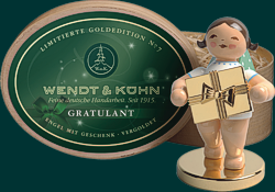 Goldedition Wendt und K�hn - Gratulant