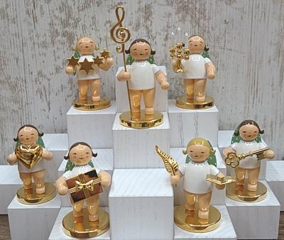 Wendt und K/ühn Engel mit Notenschl/üssel Goldedition No 2