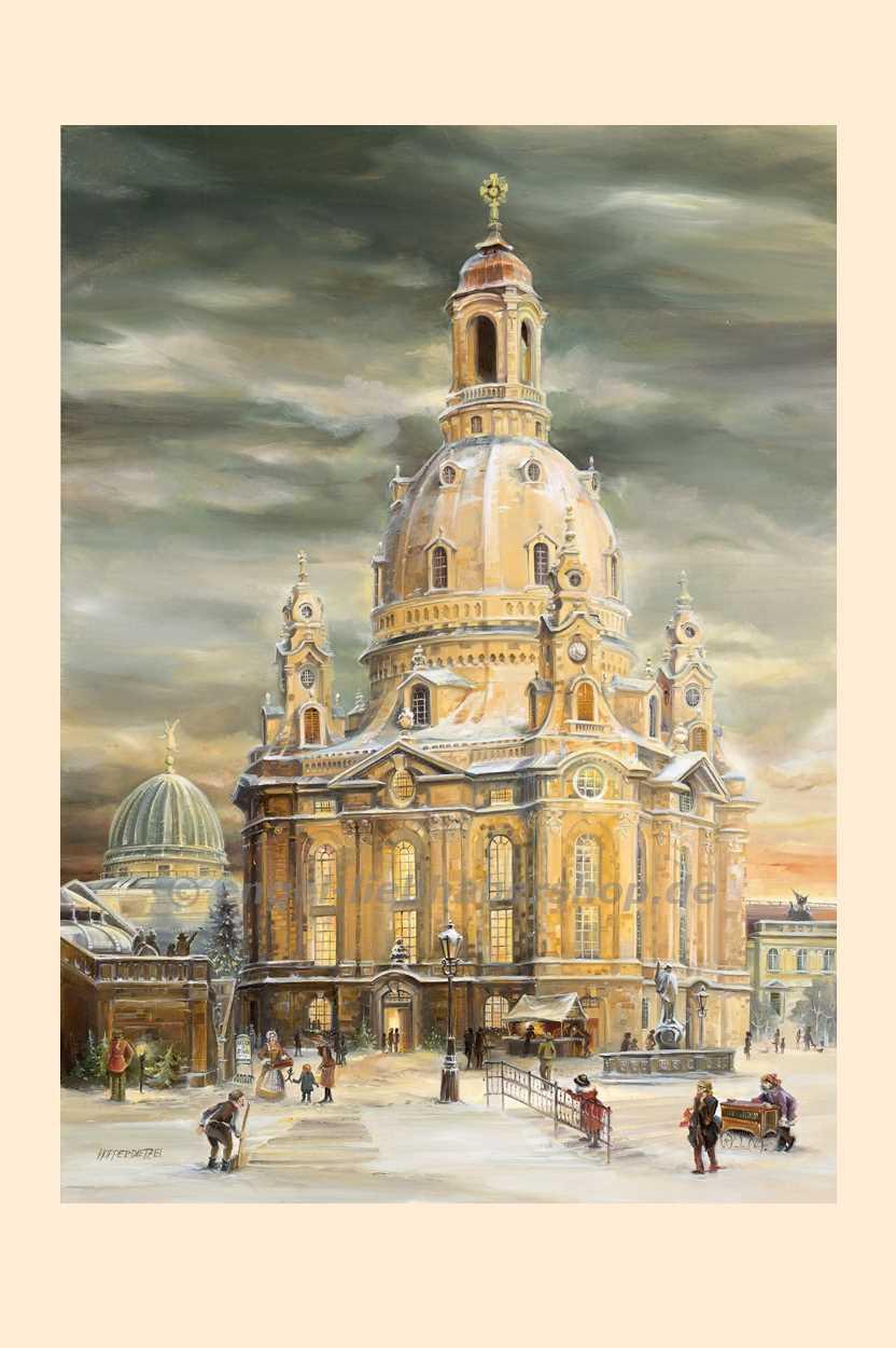 Sonstige Artikel Adventskalender Frauenkirche Dresden - Leierkasten