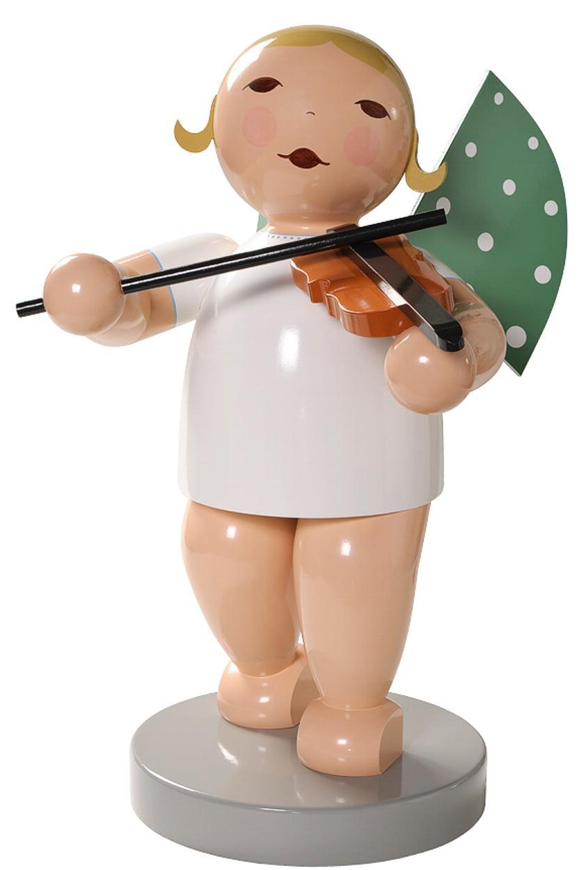 Margeritenengel Wendt&Kühn Maxiengel mit Geige - Engelgröße: ca. 60cm
