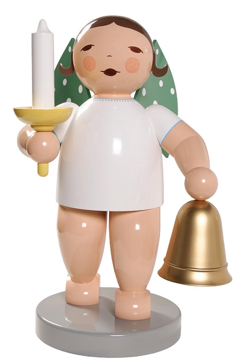 Maxiengel - 60 cm Wendt&Kühn Maxiengel mit Glocke und Licht - Engelgröße: ca. 60cm