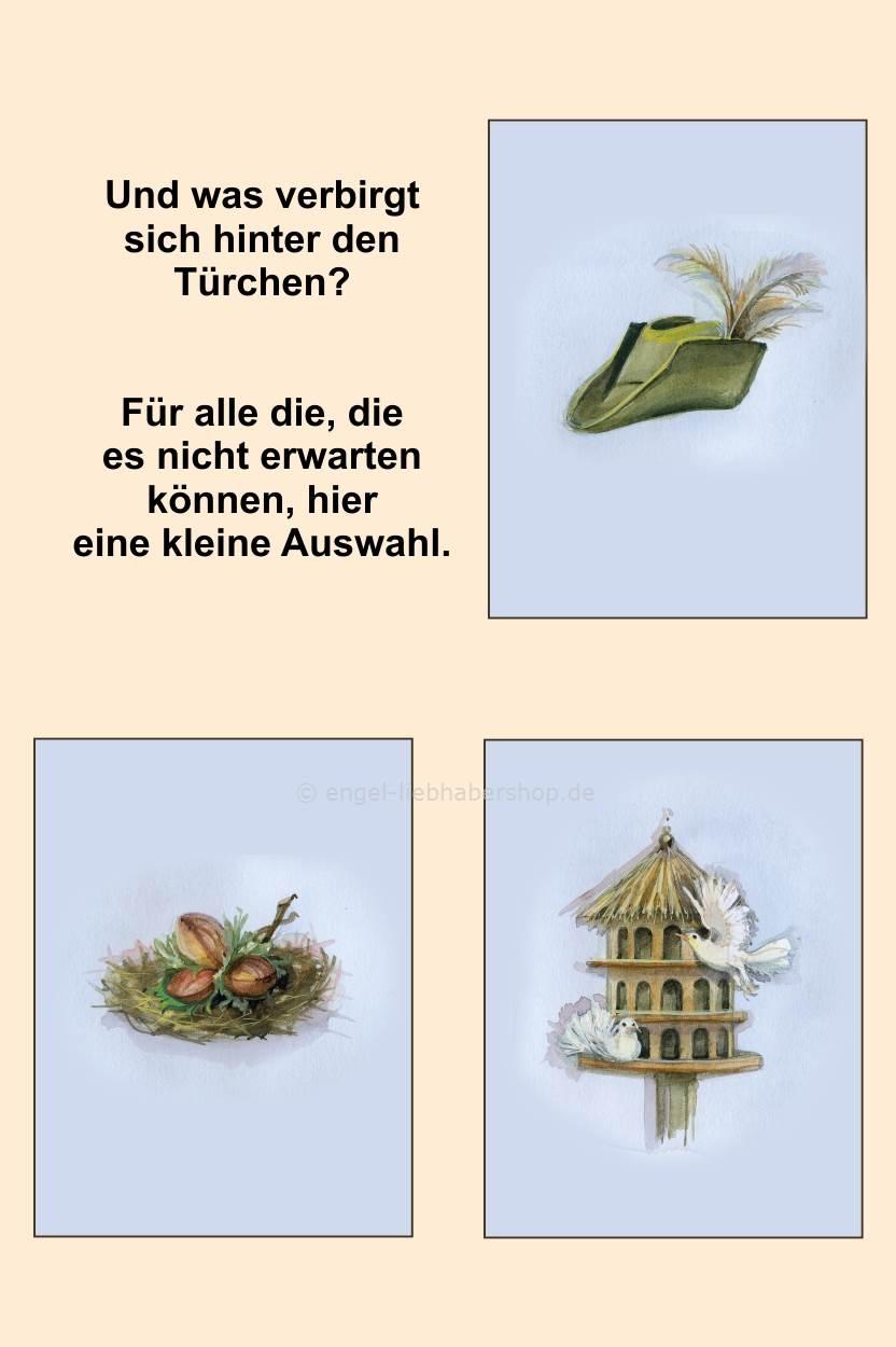 sch ner advent adventskalender moritzburg drei haseln sse f r aschenbr del. Black Bedroom Furniture Sets. Home Design Ideas
